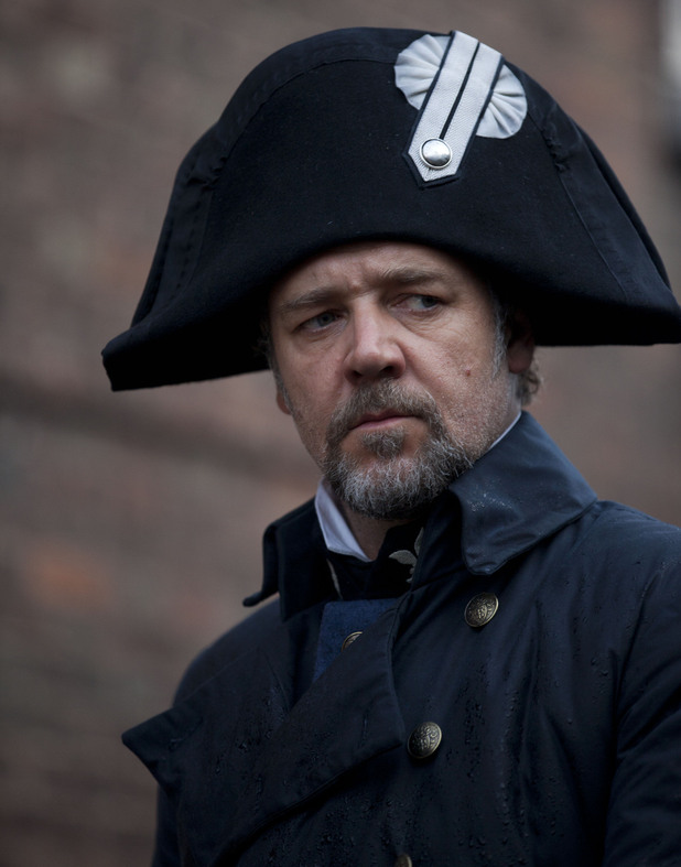 Russell Crowe as Inspector Javert - Les Miserables - The ...