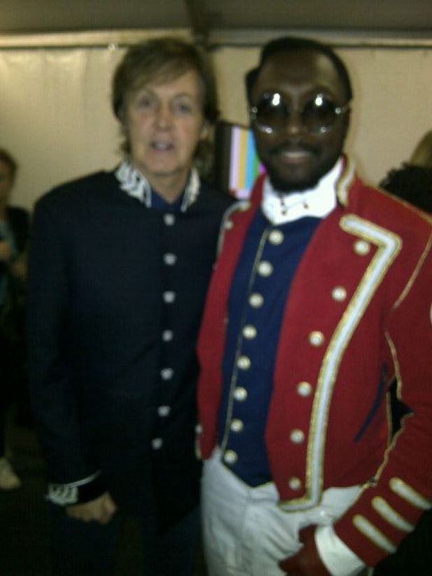 Paul McCarteny and will.i.am