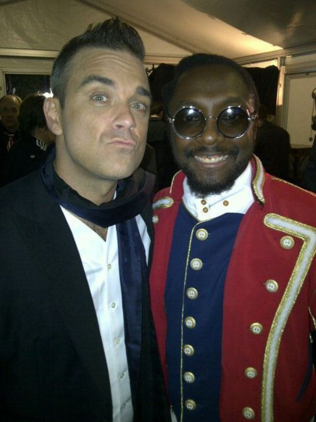 Robbie Williams and will.i.am