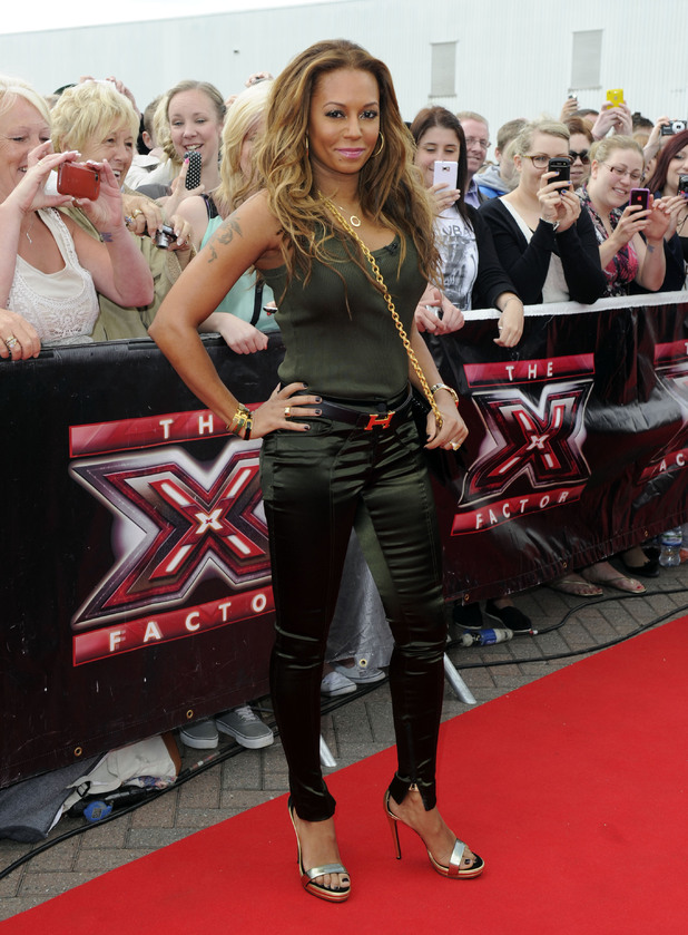 Mel B, X Factor auditions