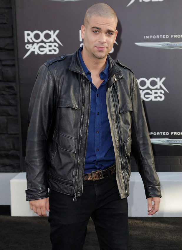 Rock of Ages Premiere: Mark Sailing