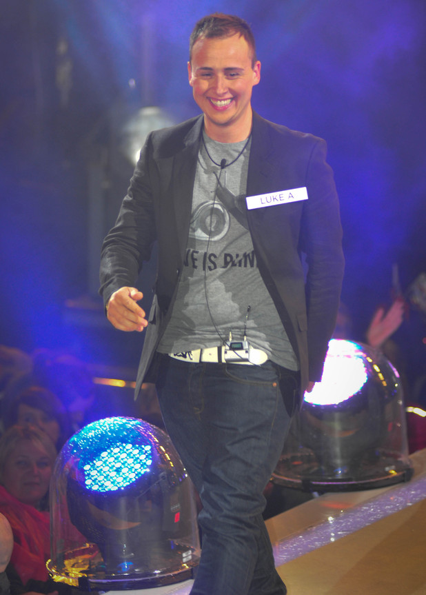 Big Brother 2012 Launch Night: Luke A enters the house