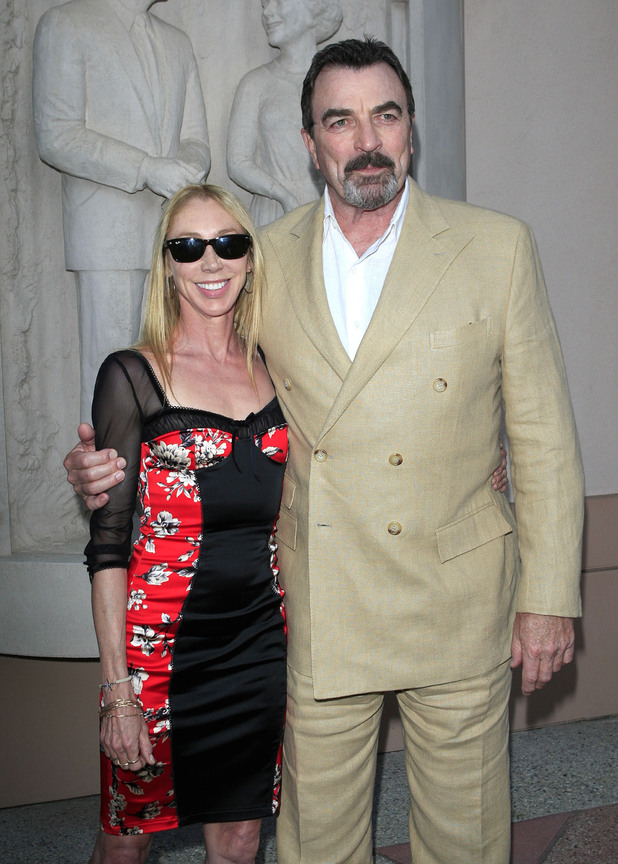 Tom Selleck and Jillie Mack  