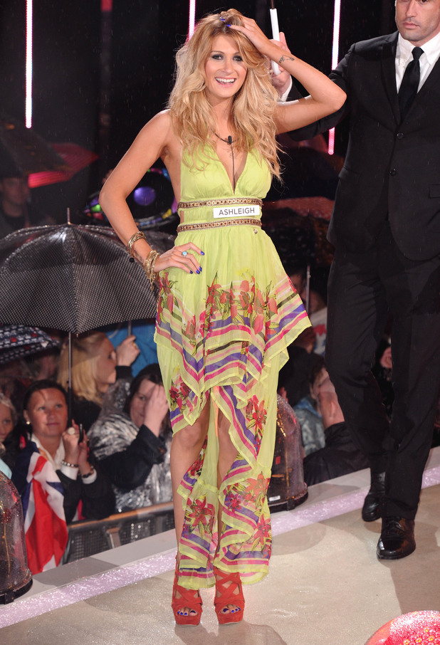 Big Brother 2012 Launch Night: Ashleigh enters the house