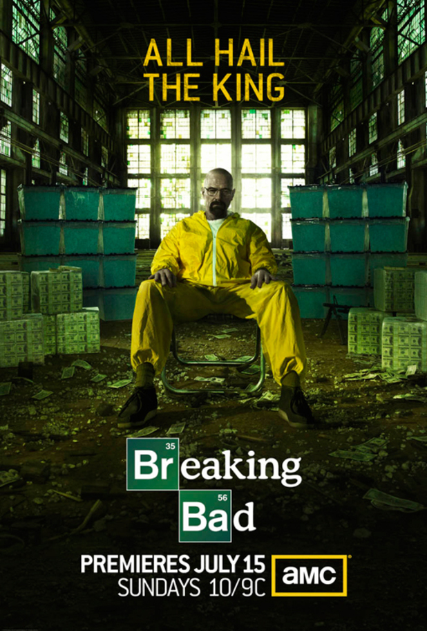Breaking Bad season five promo poster