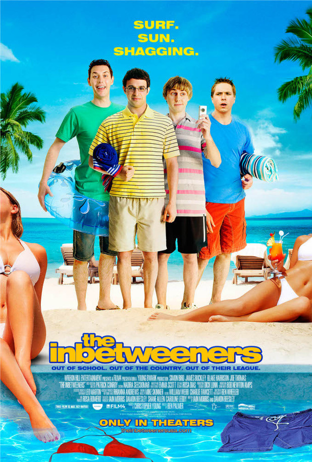 The Inbetweeners US movie poster