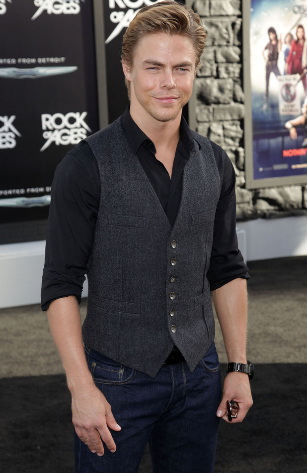 Rock of Ages Premiere: Derek Hough