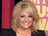 Lauren Alaina arriving at the 2012 CMT Music Awards in Nashville