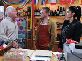 Eric visits Alicia and David and demands that David sees sense. He threatens to tell Justin that the marriage is a sham