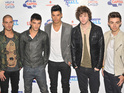 "Max George says that his group are a ""hybrid"" of a band and a boyband."