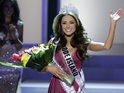 Miss Rhode Island Olivia Culpo triumphs over 50 competitors to become Miss USA.