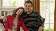 Jason Segel and Emily Blunt star in the raunchy red band trailer for upcoming comedy 'The Five Year Engagement'.