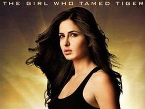 Katrina Kaif in Ek Tha Tiger poster