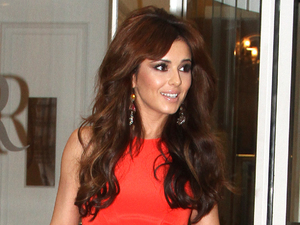 Cheryl Cole leaves the Crazy Horse nightclub in Paris Paris, France