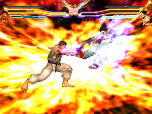 'Street Fighter X Tekken' mobile screenshot