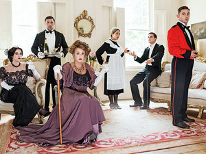 The cast of Geordie Shore visit Downton Abbey