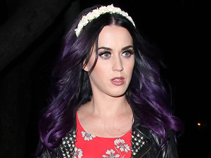 Katy Perry leaving Dominick's West Hollywood Los Angeles, California