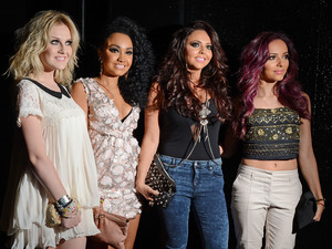 L-R Perrie Edwards, Leigh-Anne Pinnock, Jesy Nelson and Jade Thirwell of Little Mix,