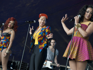 Lovebox festival at Victoria Park - Day 2: Stooshe