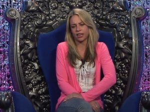 Big Brother Day 7: Lauren in the diary room.