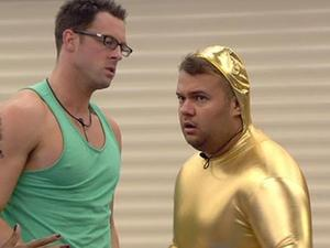 Big Brother 2012 Day 8: Electric suit task