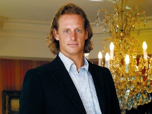Tennis star David Nalbandian