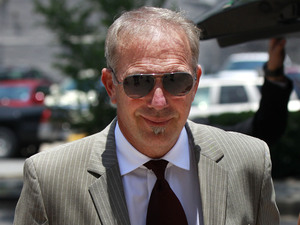 Kevin Costner arrives at Federal Court on Thursday, June 14, 2012 in New Orleans for verdict in civil lawsuit with Stephen Baldwin.