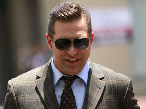 Stephen Baldwin arrives at Federal Court on Thursday, June 14, 2012 in New Orleans for the verdict in his civil lawsuit against Kevin Costner.