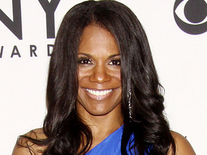 Audra McDonald in the press room at the 66th Annual Tony Awards in New York