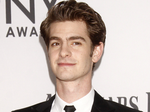 Andrew Garfield arriving at the 66th Annual Tony Awards in New York
