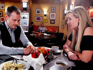 Eva opens up and begs Nick for another chance, but Nick is defiant and tells her its over for good