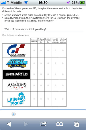 PlayStation Survey - Grand Theft Auto Vita