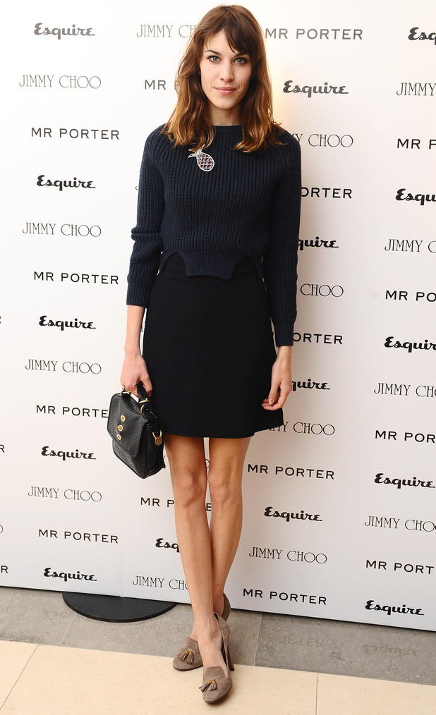 Esquire & Mr Porter London Collections: Alexa Chung