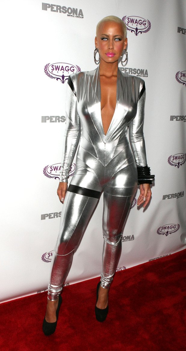Cover model Amber Rose launches Persona magazine at the Griffin New York City, USA
