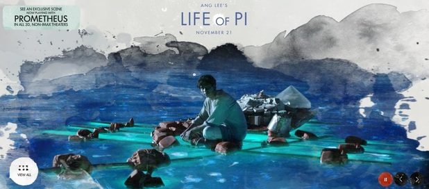 &#39;Life of Pi&#39; banner image