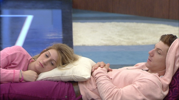 Big Brother Day 7: Ashleigh and Luke S listen to the nominations.