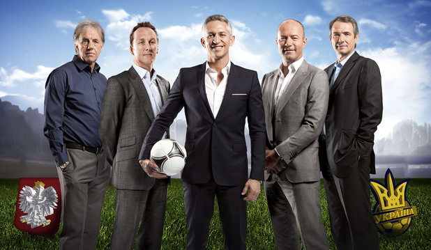 The BBC Euro 2012 presenter team