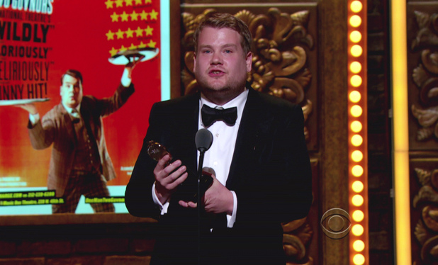 James Corden during the 66th Annual Tony Awards