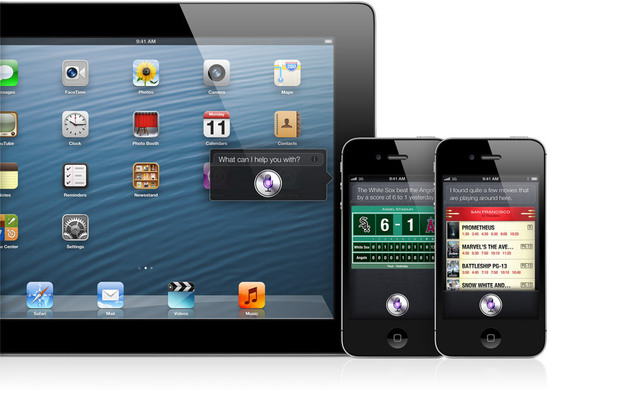 Apple WWDC 2012: Siri on the iPad.