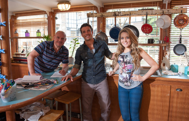 David Kennedy, Danny Mac and Abi Phillips