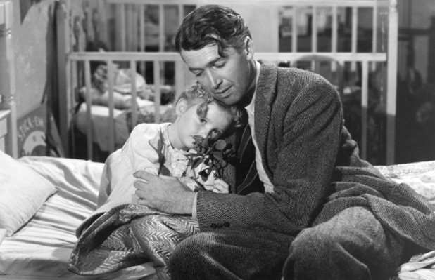 James Stewart as George Bailey in 'It's a Wonderful Life'