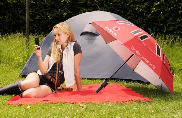 Vodafone Booster Brolly.