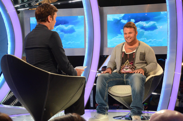 Chris James talks to Brian Dowling on Big Brother