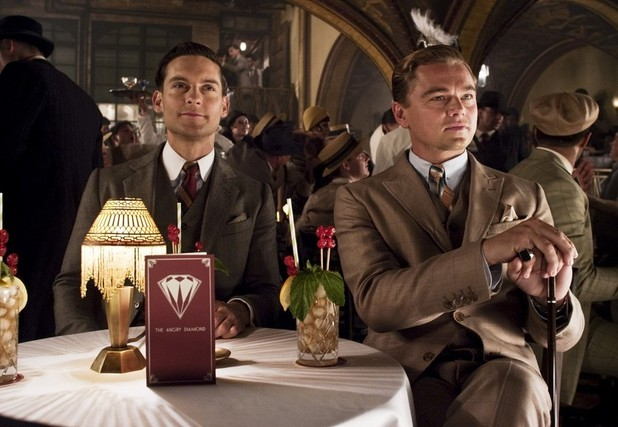Tobey Maguire, Leonardo DiCaprio The Great Gatsby