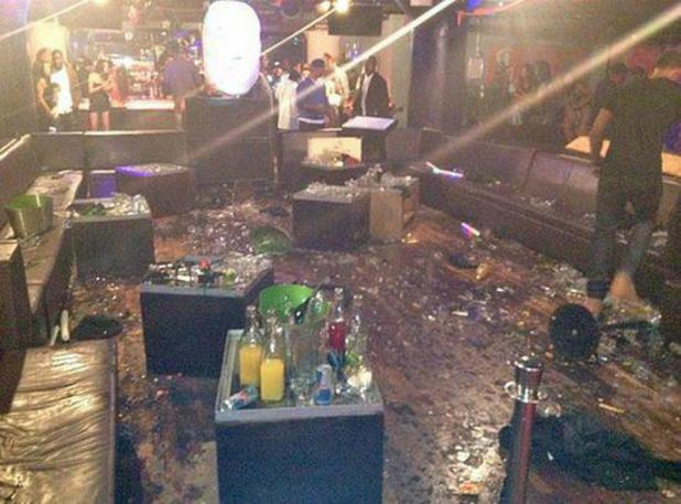 Chris Brown nightclub after scuffle