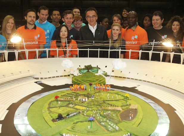 Danny Boyle, Olympic opening ceremony