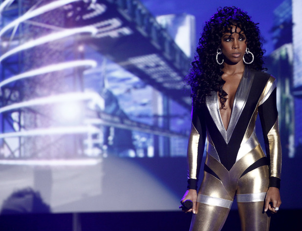 Kelly Rowland, Pam Hogg catsuit
