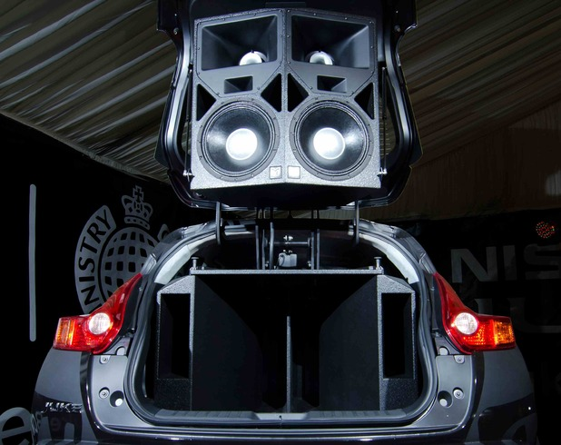 Nissan and Ministry of Sound's Juke Box