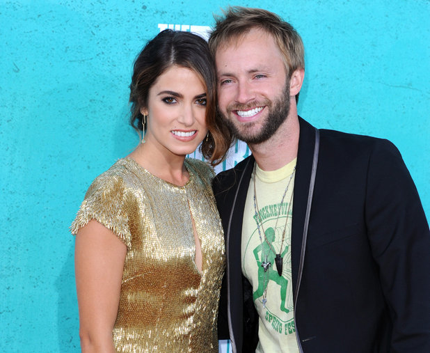 'Twilight' actress Nikki Reed with husband Paul McDonald at the MTV Movie Awards - June 3, 2012