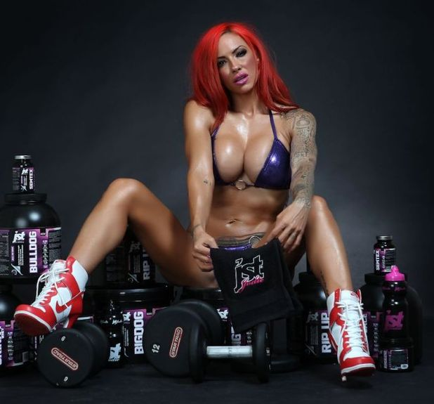 Jodie Marsh launches her 'JST Jodie' range.